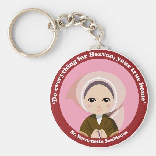 St. Bernadette Soubirous Llavero Personalizado