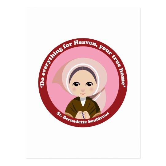 St. Bernadette Soubirous Postcard