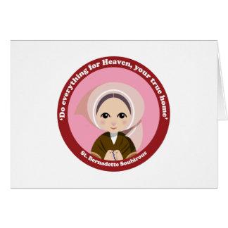 St. Bernadette Soubirous Tarjetas