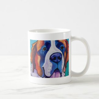 St Bernard 1 Classic White Coffee Mug