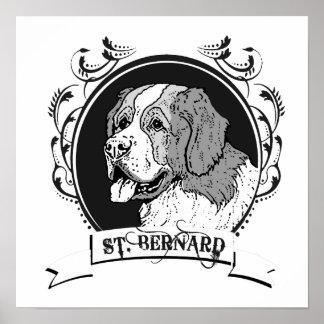 ST BERNARD 2 POSTERS