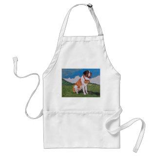 St. Bernard apron