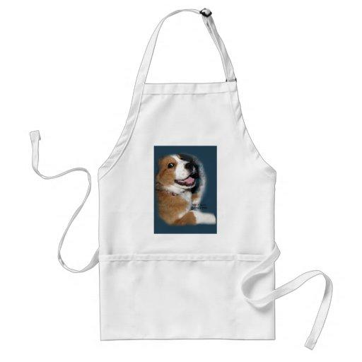 St. Bernard Bernese Mountain Dog Smile Apron