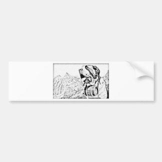 St Bernard Bumper Sticker