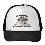 St. Bernard Can't Have Just One Products Trucker Hat