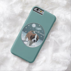 Case-Mate Barely There iPhone 6 Case with Saint Bernard Phone Cases design
