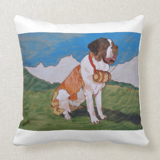 St. Bernard cushion