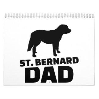 St. Bernard Dad Calendar