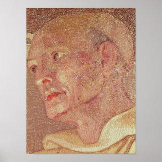 St Bernard de Clairvaux de la cripta San Pedro Póster