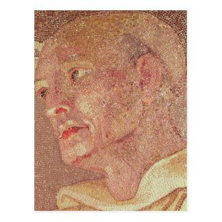 St Bernard de Clairvaux de la cripta San Pedro Tarjeta Postal
