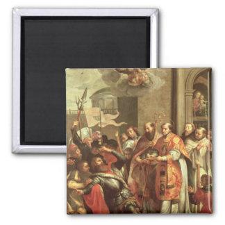 St Bernard de Clairvaux y del duque de Guillermo X Imanes