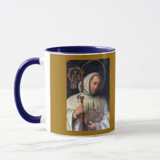 St Bernard de la taza de Clairvaux