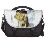 St Bernard dog, Mountain Rescue Laptop Bag
