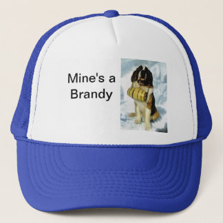 St Bernard dog, Mountain Rescue Trucker Hat