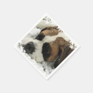 St Bernard Dog Disposable Napkins