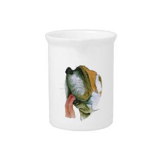 st bernard dog, tony fernandes drink pitchers