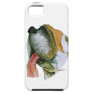 st bernard dog, tony fernandes iPhone SE/5/5s case