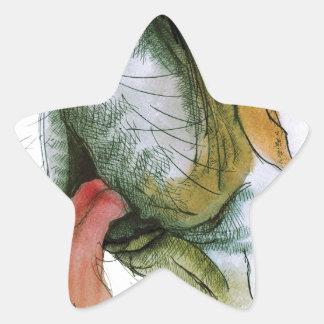 st bernard dog, tony fernandes star sticker