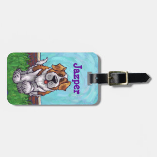 St. Bernard Gifts & Accessories Bag Tag