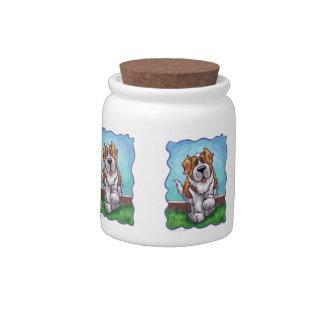 St. Bernard Gifts & Accessories Candy Jar