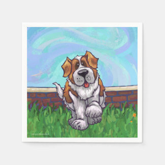 St. Bernard Gifts & Accessories Napkin
