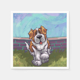 St. Bernard Gifts & Accessories Paper Napkin