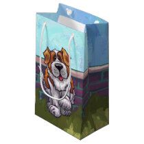 St. Bernard Gifts & Accessories Small Gift Bag