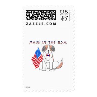 St Bernard hizo en los E.E.U.U. Sellos Postales