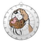 St. Bernard Keg Dog Dartboard With Darts