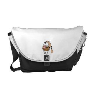 St. Bernard Keg Dog Messenger Bag