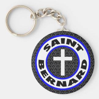 St Bernard Llavero Redondo Tipo Pin