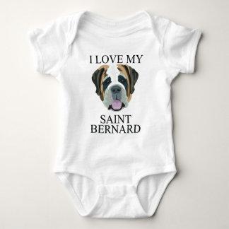 ST BERNARD Love! Baby Bodysuit