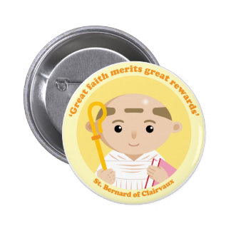 St. Bernard of Clairvaux Button