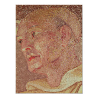 St. Bernard of Clairvaux  from Crypt St. Peter Poster