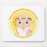 St. Bernard of Clairvaux Mouse Pad