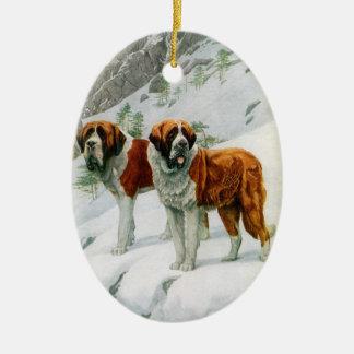 St Bernard ornament
