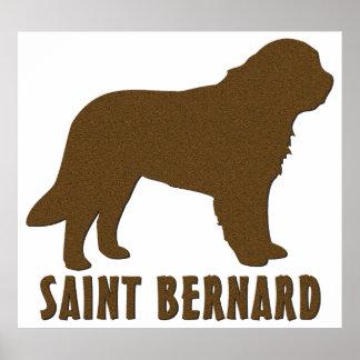 St Bernard Posters