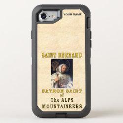 OtterBox Apple iPhone 7 Symmetry Case with Saint Bernard Phone Cases design
