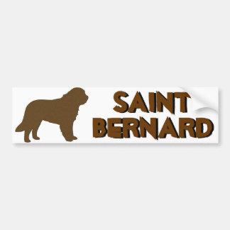 St Bernard Pegatina Para Auto