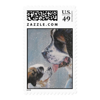 St. Bernard postage