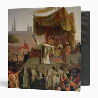 St. Bernard Preaching the Second Crusade 3 Ring Binder