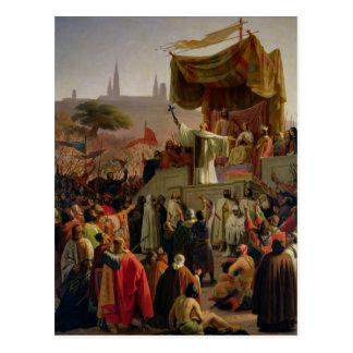 St. Bernard Preaching the Second Crusade Post Card