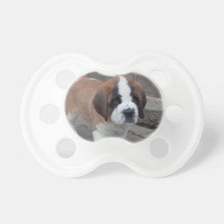 st bernard pup pacifier