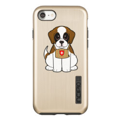 Incipio DualPro Shine iPhone 7 Case with Saint Bernard Phone Cases design