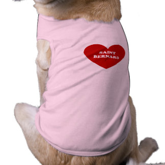 St Bernard Camiseta Sin Mangas Para Perro