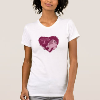 St Bernard rosado Tee Shirts