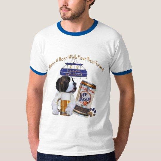 """St. Bernard """"Share A Beer With Your Best Friend"""" T-Shirt"""