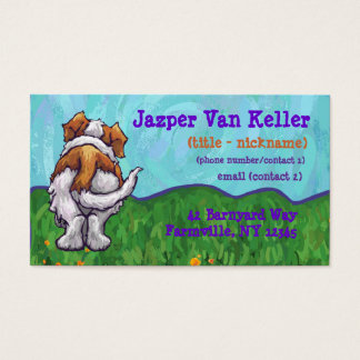 St. Bernard Stationery Business Card