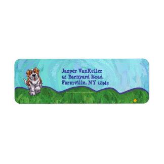 St. Bernard Stationery Return Address Label