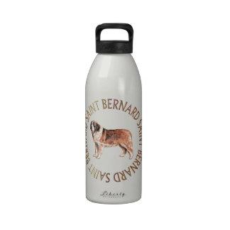 St Bernard Botella De Agua